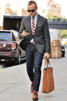 Image from https://cdn.lookastic.com/looks/blazer-dress-shirt-jeans-derby-shoes-tie-pocket-square-socks-original-1527.jpg.