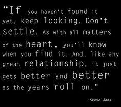 Steve Jobs quote via www.Facebook.com/PositivityToolbox