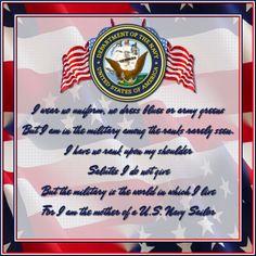 Navy mom motto