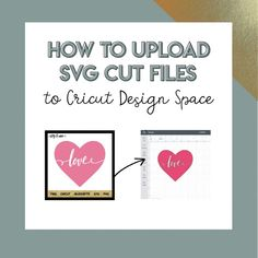 How to Upload a SVG to Cricut Design Space