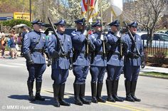 https://flic.kr/p/avMT7z | 220 National Police Parade - South Kingstown PD | South Kingstown police color guard marching down the parade route.