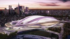 Facing Protests, Zaha Hadid Revises Design For Tokyo's 2020 Olympic Stadium | Co.Design | business + design