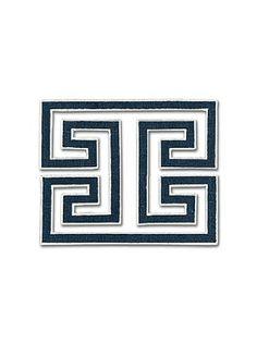 DecoratorsBest - Detail1 - Sch 66132 - Madame Wu Applique - Bleu Marine - Trim - Fabrics - DecoratorsBest
