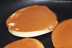 Dorayaki in der Gastrolux Pfanne - die Textur wird dank der guten Wärmeverteilung fast perfekt