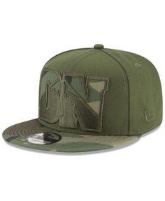 New Era Denver Nuggets Operation Camo 9FIFTY Snapback Cap - Green Adjustable