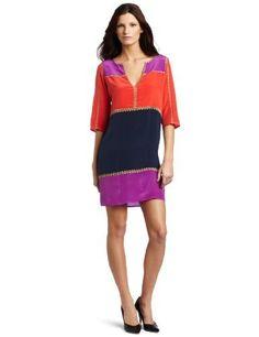 BCBGMAXAZRIA Women's Aidas Color Blocked Shift Dress, Light Magenta Combo, X-Small  BCBGMAXAZRIA , http://www.amazon.com/dp/B0068F484A/ref=cm_sw_r_pi_dp_RozGpb0HYR4D0