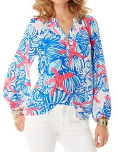 Lilly Pulitzer Elsa Top in She She Shells