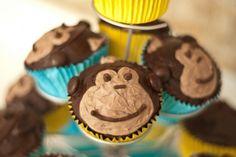 little monkey cupcakes