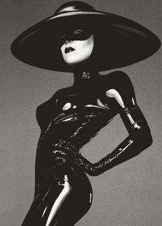 Black Latex. S)