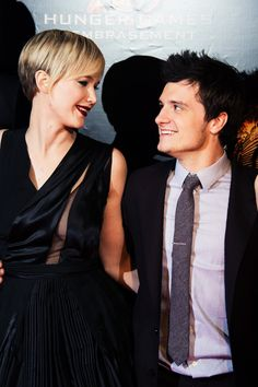 Jennifer Lawrence + Josh Hutcherson