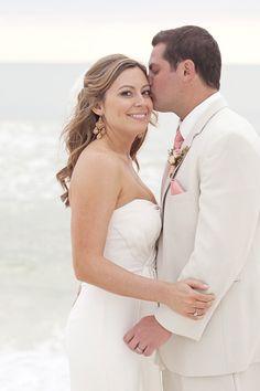 A Nicole Miller #beach #bride
