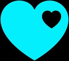 what do the blue hearts mean on match com