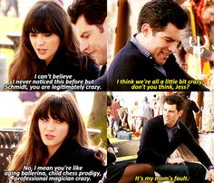 Don't you think we are all a little bit crazy? #NewGirl