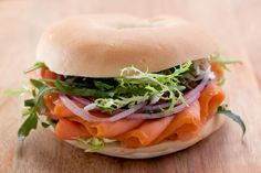 Sándwich de Salmón Ahumado | ContigoSalud