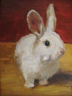 Let's Paint Animals! Doris Rice Learn texture and color, size/background and… Bunny Painting, Painting & Drawing, Watercolor Paintings, Lapin Art, Rabbit Art, Bunny Rabbit, Bunny Art, Animal Paintings, Paintings Of Birds