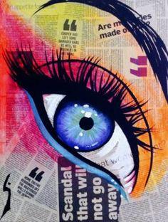 "Saatchi Art Artist Conrad Crispin Jones; Painting, """"Blue Eye"""" #art"