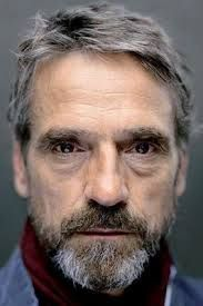 Jeremy Irons -- Character inspiration #writing #novel #nanowrimo  Wide neck as opposed to making a neck look smaller on a woman.