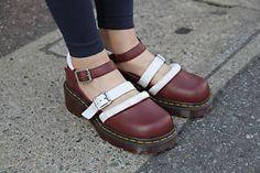 Dr-Martens-Aggy-LIMITED-EDITION-Agyness-Deyn-T-Bar-Mary-Janes-Red-ALL-Sizes