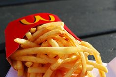 Mickey-D's fries,  so unhealthy but so good!