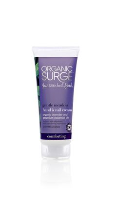 Hand Cream, Natural Gentle Meadow Hand & Nail Cream | Organic Surge