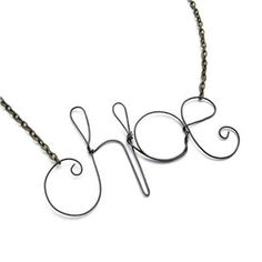 """Ok...I know it says """"Chloe"""", but that looks a lot like """"Hoe""""."""
