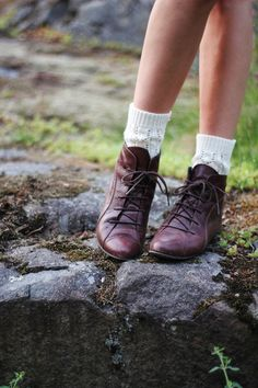 .. want shoes like this. Some leather oxfords, please!!