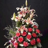 carnation and orchids arrangements - Google Search
