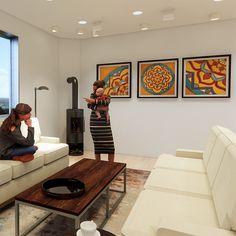 Artwork Custom Mandala Revit Family, Model Shop, Mandala Design, Gallery Wall, Abstract, Artwork, Home Decor, Summary, Work Of Art