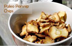 Fit to Blog: Parsnip Chips (AIP, FODMAPS, autoimmune paleo diet)