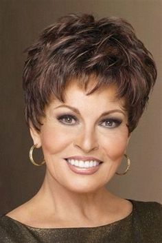 Winner by Raquel Welch, is now available in a large size. This ultra short style features a choppy, tousled look right out of the box that can also be combed down for a chic, sleek look. Winner is… Short Grey Hair, Short Hair Cuts For Women, Short Hair Styles, Long Hair, Short Hairstyles For Women, Bob Hairstyles, Pixie Haircuts, Popular Hairstyles, Teenage Hairstyles