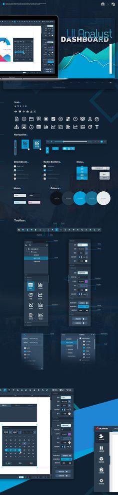 Web design platform on Behance