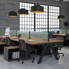 Professional Office Decorating Ideas is unquestionably important for your home. Whether you pick the Interior Design Styles Guide or Corporate Office Interior Design, you will create the best Office Design Corporate Workspaces for your own life. Open Space Office, Office Space Decor, Office Space Design, Modern Office Design, Office Workspace, Office Interior Design, Office Interiors, Office Designs, Simple Interior