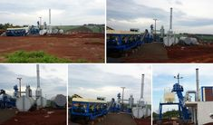 60tph Mobile Asphalt Plant in Paraguay - Aimix Construction Machinery