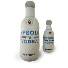 Arfsolut Bottle Plush Dog Toy