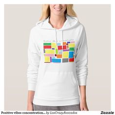 Positive vibes concentration Hoodie
