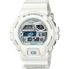 Unisex Casio G-Shock Bluetooth Alarm Chronograph Watch GB-6900AA-7ER