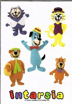 Postman pat knitting pattern pdf instant download postman pat the hanna barbera collection book sweaters by gary kennedytoys by alan dart knitting patterns dt1010fo