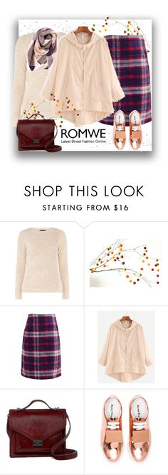 """""""Romwe. Be in positive stream."""" by natalyapril1976 on Polyvore featuring mel, WithChic, Loeffler Randall, Acne Studios and Everest"""