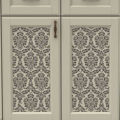 Lovely Lace Furniture Stencil
