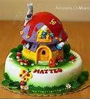 smurf cake - Bing Images
