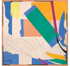 """""""Henri Matisse: The Cut-Outs"""" at Tate Modern. Henri-Émile-Benoît Matisse is one of the leading figures of modern art. Henri Matisse, Matisse Kunst, Matisse Art, Matisse Paintings, Picasso Paintings, Matisse Pinturas, Matisse Cutouts, Cut Out Art, Museum Of Modern Art"""
