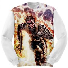 Custom Sweatshirt Art Winter Soldier