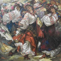 🇺🇦🌻Ukrainian art. Наталя Папірна Socialist Realism, Ukrainian Art, Dance Like No One Is Watching, Animal Masks, Historical Art, Aesthetic Art, Alter, All Art, Ukraine