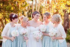 Amazing Light Blue Bridesmaid Dresses : Pale Blue All Lace Bridesmaid Dresses