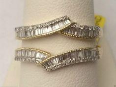 Yellow Gold Ring Guard Wrap Solitaire Enhancer (0.50ct. tw)- RG221686331597... #14kt #gold #diamond #bridal #engagement #wedding #ring #fashion #jewelry #jewelryring #diamondring #engagementring #fashionring #lovely #Ringguard #Warp #Enhancer #Ringjacket