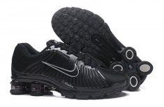 Nike AIR Shox OZ Black Silver Red Mens Trainning Shoes - ShoesClan.com Mens Nike Shox, Nike Shox For Women, Nike Shox Shoes, Nike Shox Nz, Mens Nike Air, Nike Men, Cheap Nike Shoes Online, Jordan Shoes Online, Sport Basketball