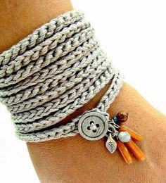 Serendipitylands: DIY BISUTERIA GANCHILLO - DIY JEWELRY CROCHET
