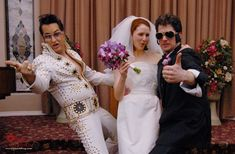...And I want my second Vegas wedding to be Chapel of Love-style, complete with Elvis impersonator.  Vegas is such a fun town.  I've been twice, and am dying to go again.
