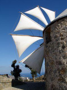 Yalikavak hilltop windmill