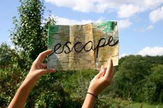 escape = travel.